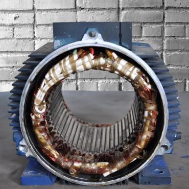 Перемотка статора кранового электродвигателя 4A160M6 15,00 кВт