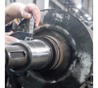 Восстановление посадочных мест под подшипник электродвигателя 4A200L8