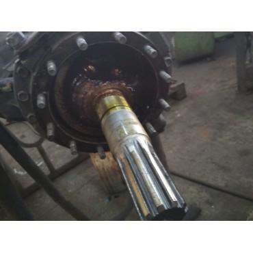Восстановление посадочных мест под подшипник электродвигателя 4A225M6