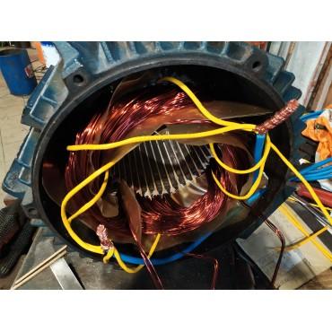 Перемотка статора электродвигателя 4A160S6 11,00 кВт