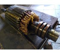 Ремонт якоря крановых электродвигателей