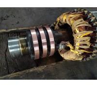 Проточка и замена токосъёмных колец