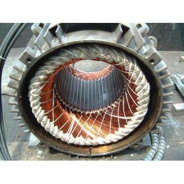 Перемотка статора кранового электродвигателя 4A100L2 5,50 кВт
