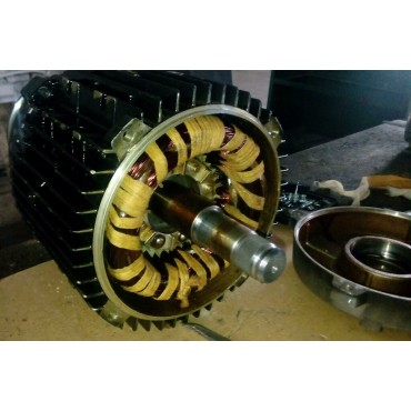 Замена подшипников электродвигателя 4A180S2 22,00кВт