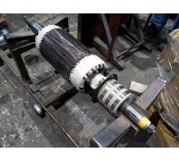 Восстановление посадочных мест под подшипник электродвигателя 4А100S6