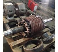 Восстановление посадочных мест под подшипник электродвигателя 4A160M6