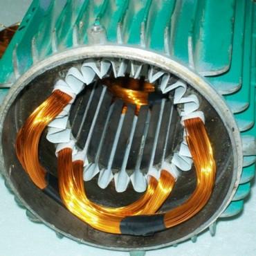 Перемотка статора кранового электродвигателя 4A132M2 11,00 кВт