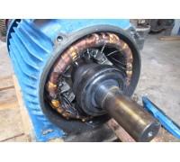 Восстановление посадочных мест под подшипник электродвигателя 4А80А2