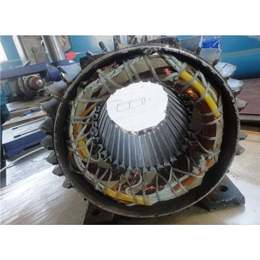 Перемотка статора крановых электродвигателей