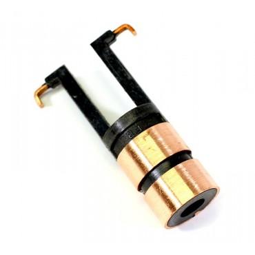 Проточка токосъёмных колец крановых электродвигателей 4А90LВ8 1,10 кВт