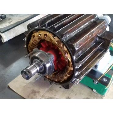 Восстановление посадочных мест под подшипник электродвигателя 4A132S6
