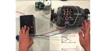 Как подключить электродвигатель на 380В к сети 220В без конденсатора?